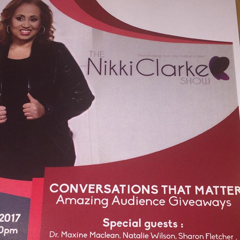 Nikki Clarke Show Ticket