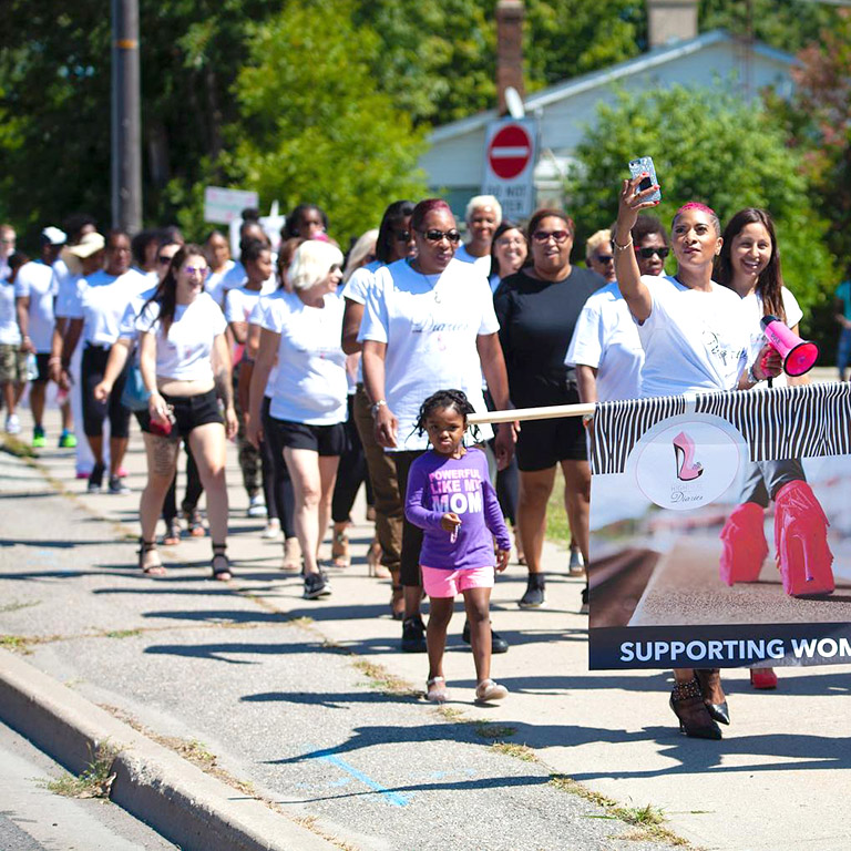Walk A Mile Event With Natalie Wilson